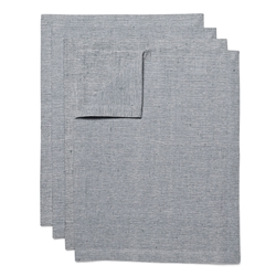 SIENNA Placemats - Set of 4 - Grey