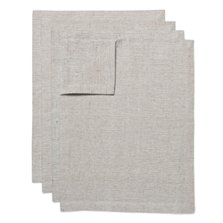 SIENNA Placemats - Set of 4 - Taupe