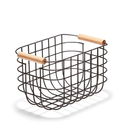 CHELSEA Wire Basket - 27cm - Black