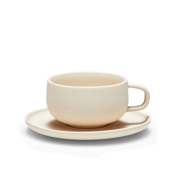 FORM Tea Cup & Saucer - 210ml - Bisq