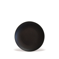 Cafe Tellerie REVOLUTION Coupe Plate - 19cm - Black