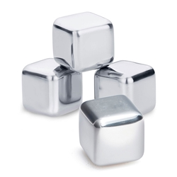 BOND Ice Cube - Set of 4 - Stainless Steel