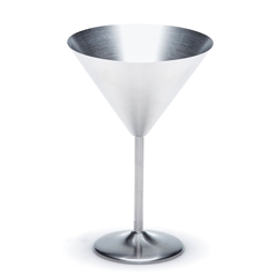 BOND Martini Glass - Set of 2 - Stainless Steel