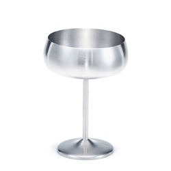 BOND Cocktail Glass - Set of 2 - Stainless Steel