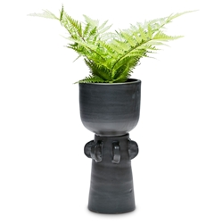 TOTEM Planter - Two Piece - Black - Large