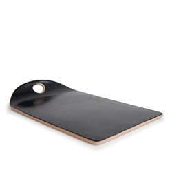ARTEFACT Serving Platter - 31cm - Black