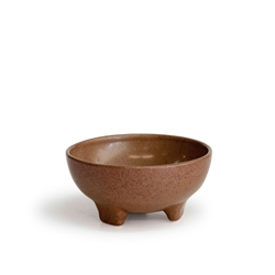 ARTEFACT Footed Dip Bowl - 10cm - Rust