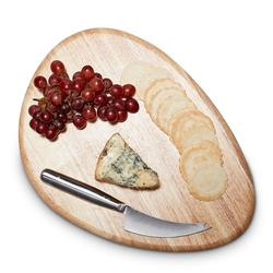 PEBBLE Cheese Board - With Cheese Knife