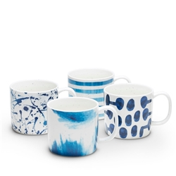 BLEU Mug - 320ml - Set of 4