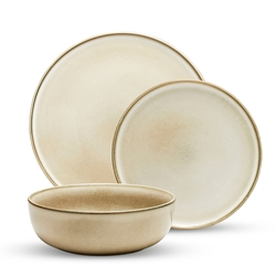 RELIC Dinner Set - 12 Piece - Natural