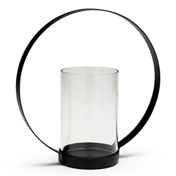 HALO Candle Holder - Black - Large