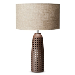 GAIA Table Lamp - Red Earth