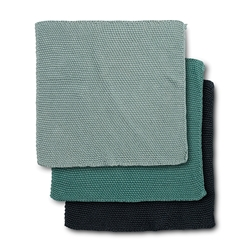ADELINE Dish Cloth - Set of 3 - Sage