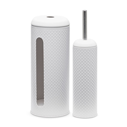 SPOT Toilet Brush & Roll Holder - Set of 2