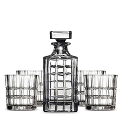BOND LINED Whisky Set - 5 Piece
