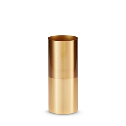 DUALITY Vase - Brass - Small