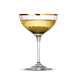 ROMANCE Coupe - Set of 6 - Gold Rim