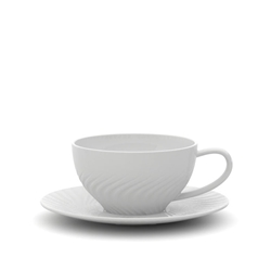 HELIX Teacup & Saucer - 240ml
