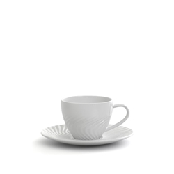 HELIX Espresso Cup & Saucer - 120ml