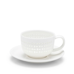LACE Tea Cup & Saucer - 260ml