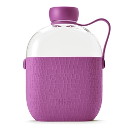 Hip Bottle - Plum