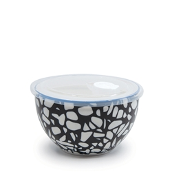 LUNCH2GO Bowl with Lid - 15cm - Stone