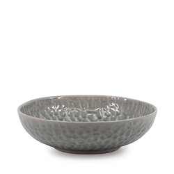 ADAM D'SYLVA Bowl - 22cm - Grey Crackle