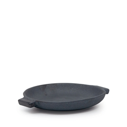 ADAM D'SYLVA Double Handle Plate - 14.5cm - Black