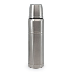 HYDRA Bullet Flask - 1 Litre - Silver