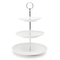 LACE Cake Stand - 3 Tier - 35cm