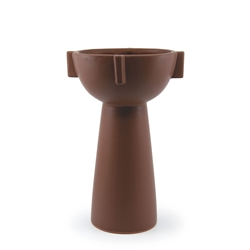 REFINE Vase - Brown