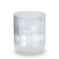 FINESSE Ribbed Vase - Small