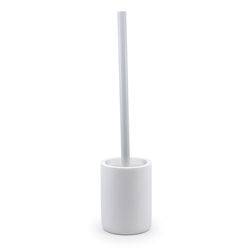 MANHATTAN Toilet Brush & Holder - White