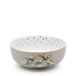 Christopher Vine HIGH TEA Bowl - 12.5x5cm - Taupe