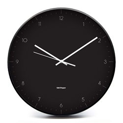 ELIO Clock - Large - Black