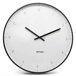 ELIO Clock - Small - White