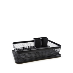 EBONY Large Dish Rack - 42cm