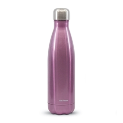 HYDRA Water Bottle - 500ml - Metallic Pink
