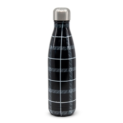 HYDRA Water Bottle - 500ml - Plaid