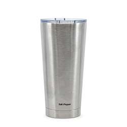 HYDRA Travel Mug - 500ml - Metallic Silver
