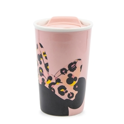 DISNEY Traveller Mug - 300ml - Minnie Pink