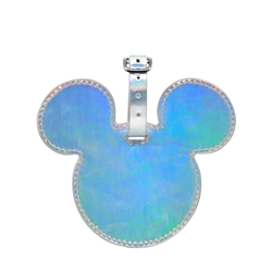 DISNEY Luggage Bag Tag - Mickey Pearl