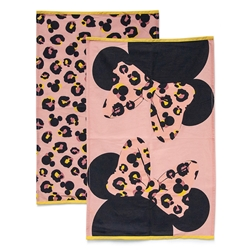 DISNEY Tea Towel - Set of 2 - Minnie Pink