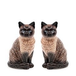 ANIMALIA Shaker Set - Set of 2 - Siamese Cat