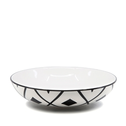 Christopher Vine SIERRA Cross Bowl - 22.5x5.5cm