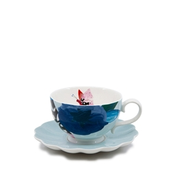 Willow Tea Cup & Saucer - 240ml - Petal