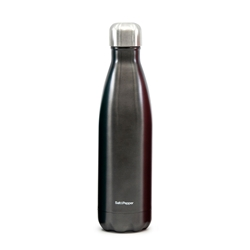 HYDRA Water Bottle Double Gun 500ml - Metal Black