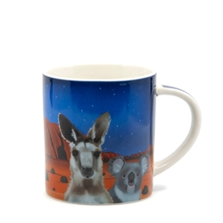 Christopher Vine DESTINATION AUSTRALIA Central Australia Mug - 350ml