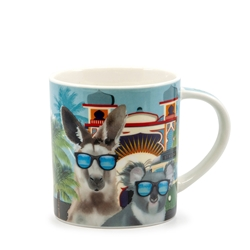 Christopher Vine DESTINATION AUSTRALIA Melbourne St Kilda Mug - 350ml