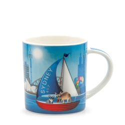 Christopher Vine DESTINATION AUSTRALIA Sydney Harbour Mug - 350ml